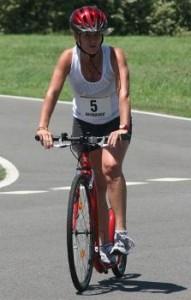 Sharon Simmons Short Course Champion