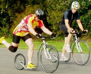 Short Course Footbike Race July 2008