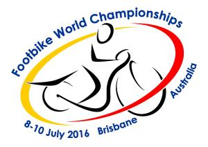 2016 Footbike World Championships Logo