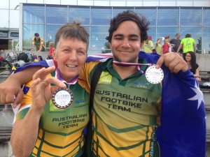 Australian Footbike Championship Winners 2014