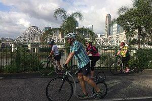 Footbiking in Beautiful Queensland 2017
