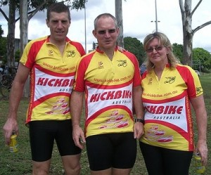 Kickbike Team Ipswich100 2009