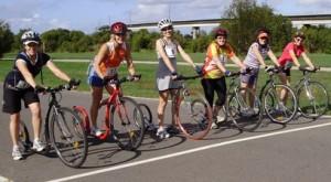Womens Line-up Footbike Sprints