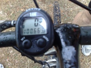 100kms Footbiking Speedo