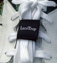 Laces are a Trap for Footbikers