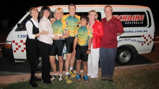 Australian Footbike Team 2010