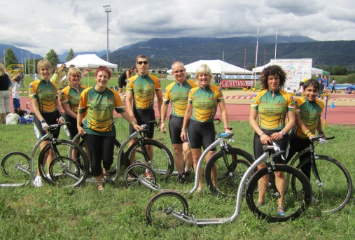 Aussies at the Footbike World Champs 2010