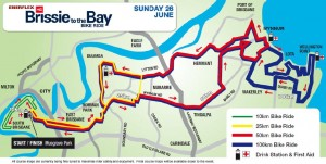 Brissie to Bay Map 2011