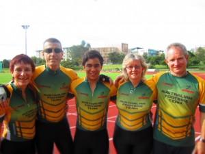 Australian Footbike Team 2012