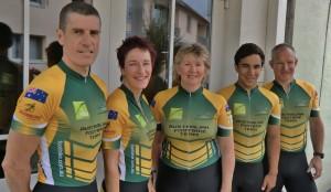 Aussie Footbike Team 2012