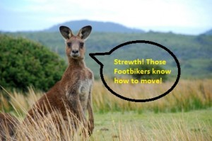 Footbikers Invite to Australia