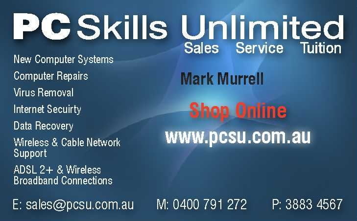 PC Skills Unlimited