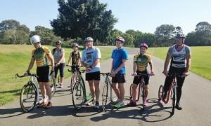 Footbike Race in Brisbane Oct 2015