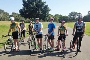Brisbane Footbike Race October 2015