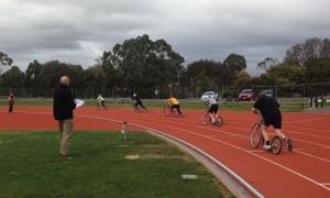 Footbike Racing in Ballarat Vic