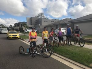 NSW Footbikers Ready to Ride